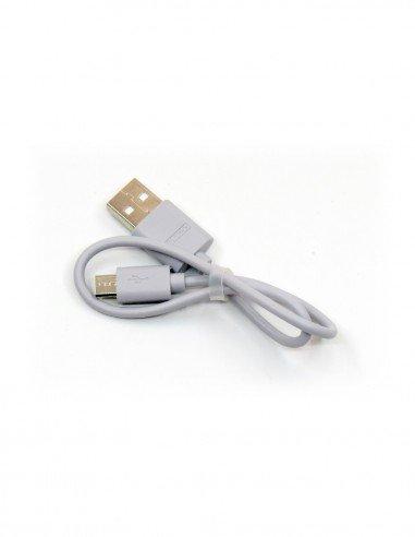 Кабель USB - MicroUSB 1A 0,3м