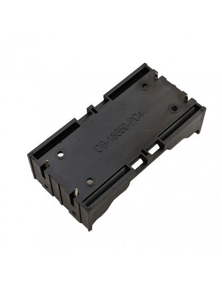 холдер на 2 аккумулятора 18650 монтаж на плату