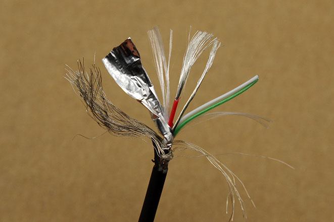 кабель xiaomi в разрезе